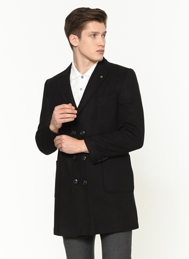 Dewberry Palto Siyah